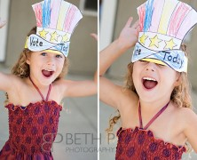 Have You Voted Today? | Temecula Children's Photographer