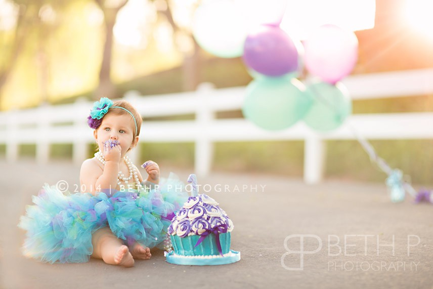 baby first photo shoot ideas - Baby Aubree
