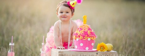 Morgan |Murrieta Photographer Smash Cake